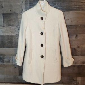 Elle child's size 12 winter white dress coat